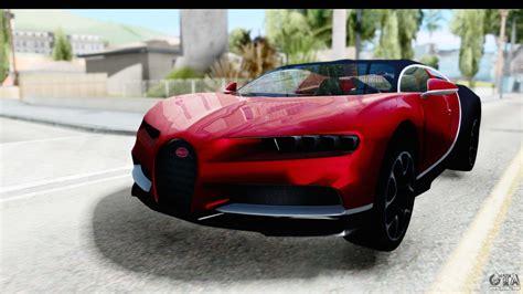 Gta V Bugatti Chiron by Bugatti Chiron 2017 V2 For Gta San Andreas