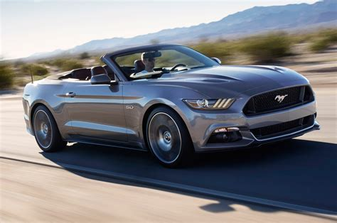 Ford Mustang Convertible 2015 by 2015 Ford Mustang Convertible Look Photo Gallery
