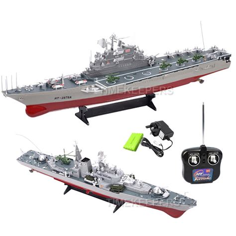 1:275 Aircraft Carrier Battleship & Destroyer RC Radio ...