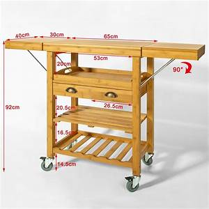 Küchenwagen Mit Schubladen : servierwagen k chenwagen aus bambus kaufen auf ~ Whattoseeinmadrid.com Haus und Dekorationen