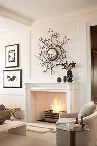 manteau cheminée 28 idées de décoration