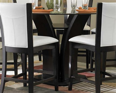 counter height table height homelegance daisy counter height dining set d710 36 set