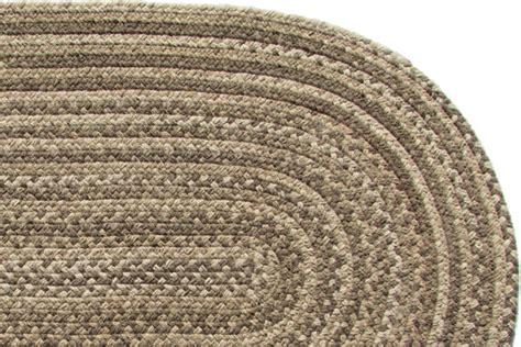 stroud braided rugs lowcountry brown wool braided rug