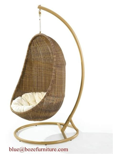 Rattan Hammock Chair by Outdoor Rattan Furniture Hammock Wicker Swing Chair Bz