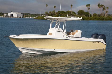 Edgewater Bay Boats by 245cc Center Console Fishing Boat Edgewater Boats