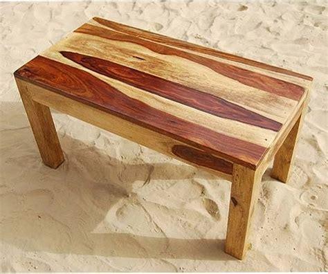 Rustic Solid Wood Handmade Sofa Cocktail Coffee Table