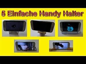 Handy Selber Bauen : 5 einfache schnelle smartphone halterungen selber machen diy handy halterung bauen ~ Buech-reservation.com Haus und Dekorationen