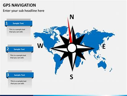 Gps Navigation Powerpoint Template Ppt Slide Sketchbubble