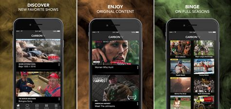 The Free Carbontv Ios App Puts The Outdoors At Your