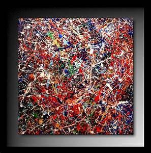 Tableau Peinture Moderne : tableau peinture huile abstrait moderne ~ Teatrodelosmanantiales.com Idées de Décoration
