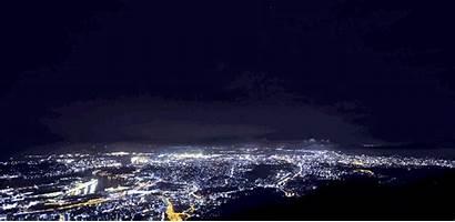 4k Japan Night September Shape