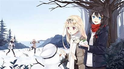 Anime Kancolle Kantai Yuudachi Shigure Characters Illustration