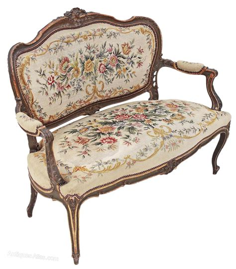 chaise louis 15 painted louis xv sofa chaise longue antiques atlas
