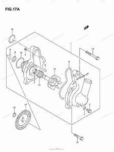 Suzuki Atv 2005 Oem Parts Diagram For Water Pump  Model K5  K6  K7