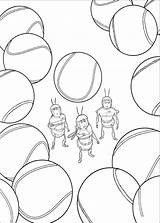 Bee Movie Coloring Pages Print Trailers sketch template