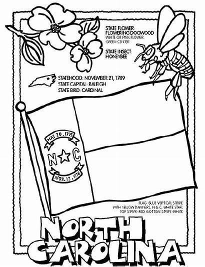 Carolina Coloring North Pages State Printable Crayola