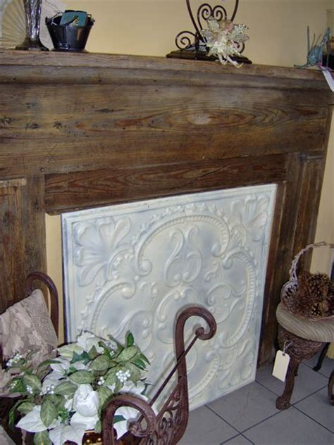 tin fireplace covers fireplace cover fireplace decor decor