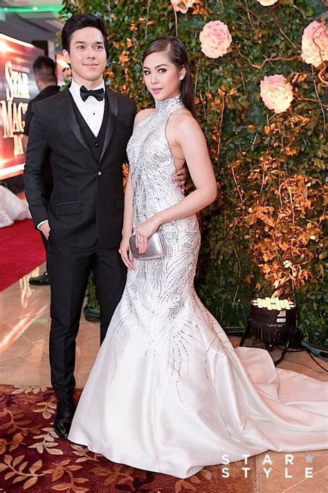 janella salvador gown star magic ball the cutest couples on the star magic ball red carpet