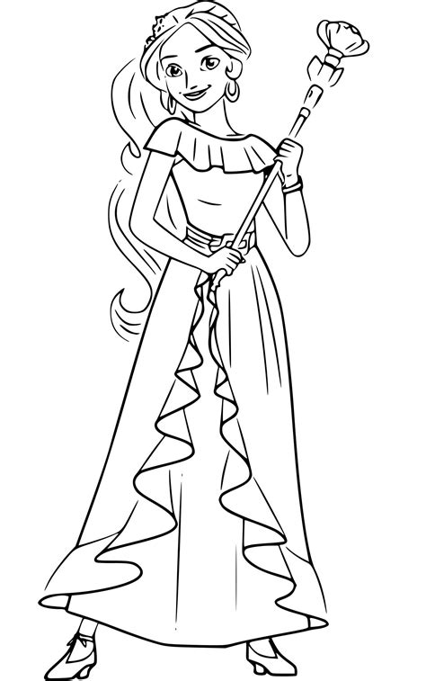 coloring pages of of avalor coloring pages best coloring pages for