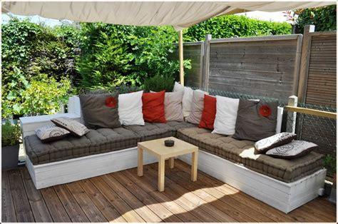 étourdissant Salon De Jardin Canape Fabriquer Salon De Jardin En Palette Inspirations Avec