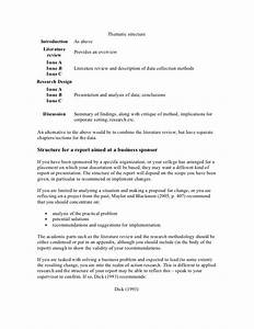 Literature Review Dissertation Proposal Sample Introduction For