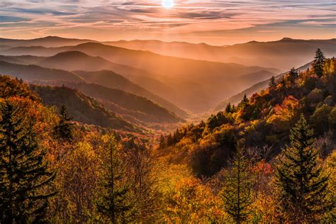 top photo spots  great smoky mountains national park