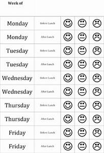 Hangman game rules for Smiley face behavior chart template