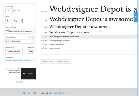 does this type make my design look fat webdesigner depot