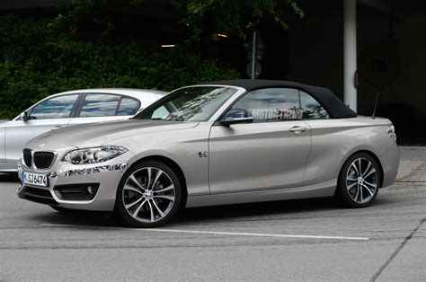 2018 Bmw 2 Series Convertible Steps Out Without Camouflage