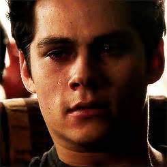 Dylan Obrien crying GIF download free