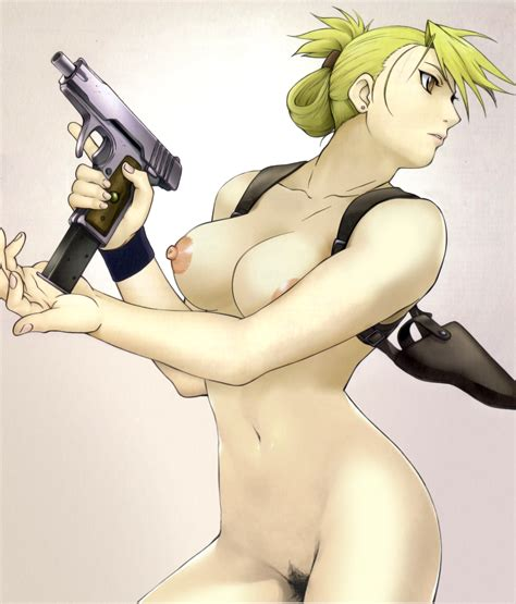 Riza Hawkeye Fullmetal Alchemist Danbooru
