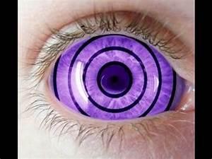 Rinnegan Contact Lenses - 9mmSFX Purple Sclera Anime ...
