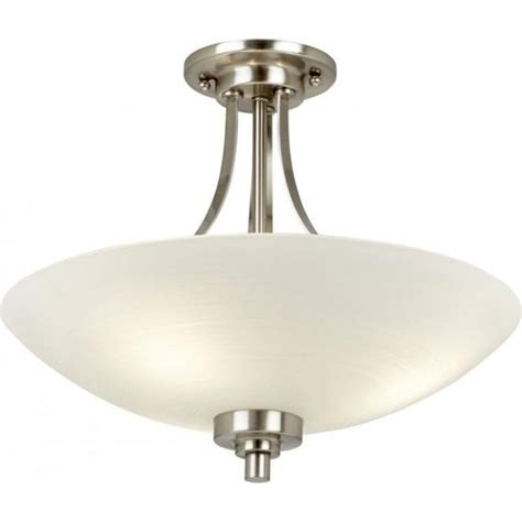 welles satin chrome ceiling light endon welles 3sc 3