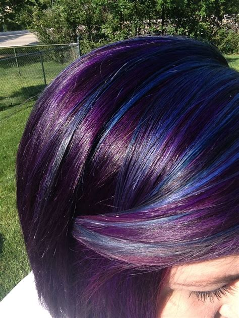 Pin By Stephanie Wimberly On Hair Dyed Hair Purple Hair