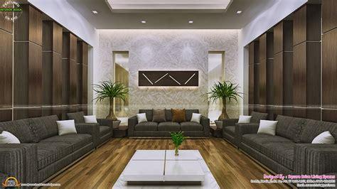 attractive home interior ideas kerala home design  floor plans