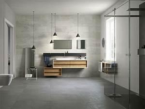 Beton Ciré Sol Salle De Bain : salle de bains b ton cir en 24 id es d 39 am nagement originales ~ Preciouscoupons.com Idées de Décoration