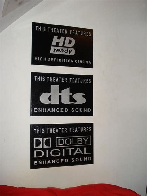 theater signs installed mick martin woodworking