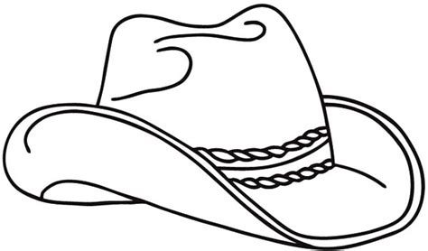 Free Cowboy Boot Outline