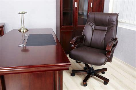 Poltrona Sedia Direzionale Presidenziale In Vera Pelle Per