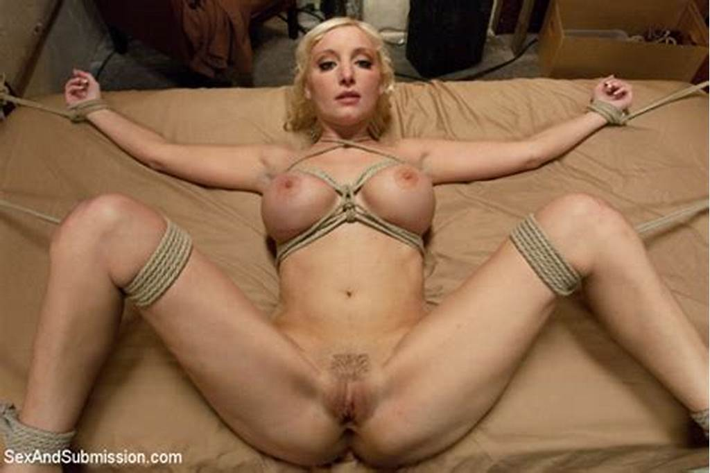 #Hog #Tied #Blonde,Nice #Tits,Spread #Legs,Pussy,Pussy #Shot