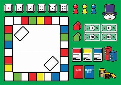Vector Vectors Board Monopoly Clipart Graphics System