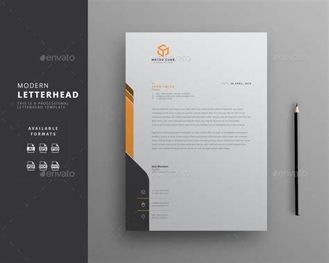 creative professional letterhead template word rintu