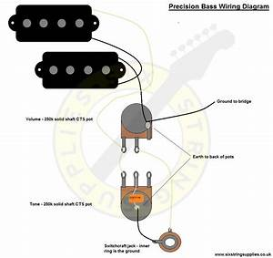 Precision Bass Wiring Diagram