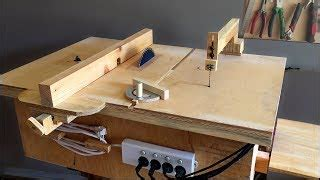 Ecouter Et Télécharger Homemade Table Saw With Built In