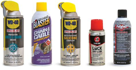 What's The Difference? Spray Lubricants