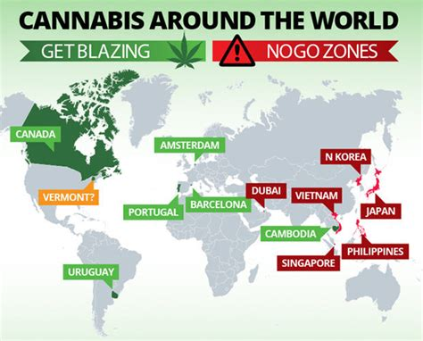 weed map cannabis legalisation marijuana smoke paradise law laws vermont stoner worst around places friendly which usa dailystar police pothead