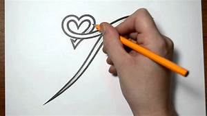 Letter T and Heart Combined - Tattoo Design Ideas for ...