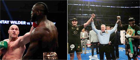 Deontay Wilder and Tyson Fury fight ends in split draw