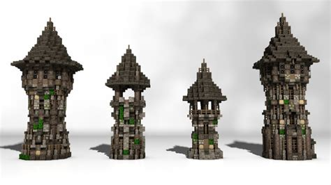 build my house tower pack minecraft project