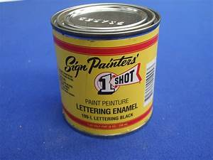 one shot lettering enamel paint 236ml gold combined With one shot lettering enamel paint